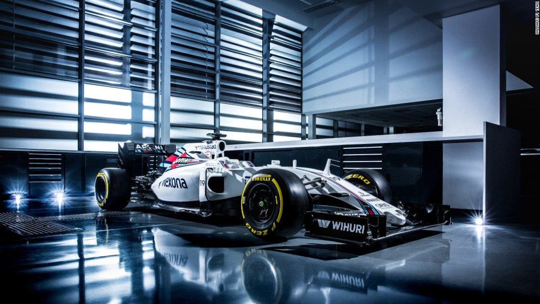 "Williams raced to third place in the team championship in 2015. It's new FW38 is finished in British red, white and blue and team principal Frank Williams declared: ""Only winning will ever be good enough."""