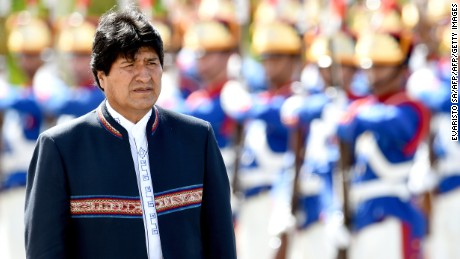 Evo Morales is facing multiple scandals stemming from a secret relationship.