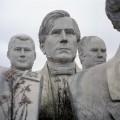 u.s. president sculptures