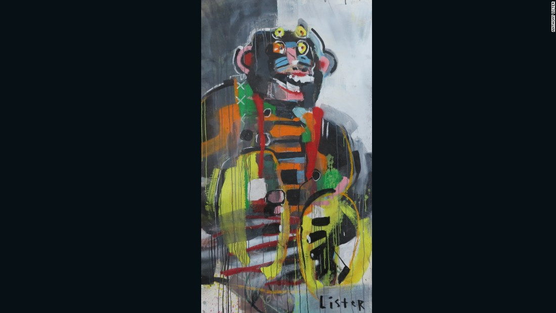 <em>Monkey Prank,</em> 2016, Anthony Lister