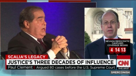 exp Paul Clement on Justice Scalia's Legacy_00014324