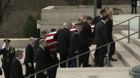 Thousands attend Justice Scalia's funeral