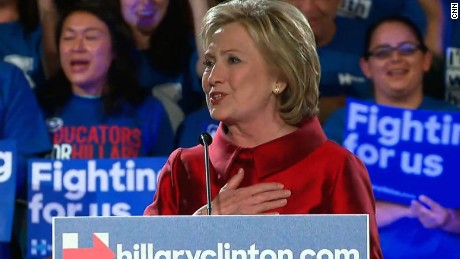 For Hillary Clinton, a turning point