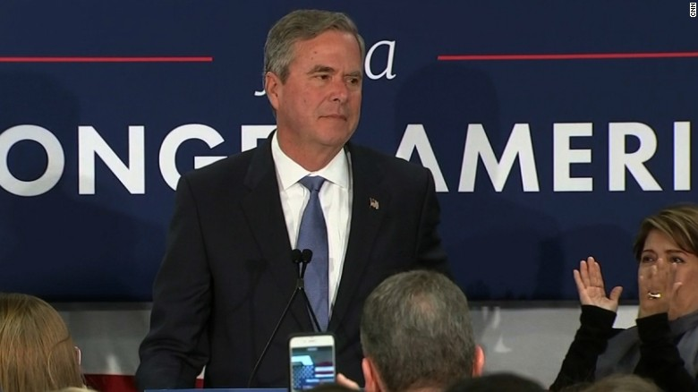 Jeb Bush suspends his campaign