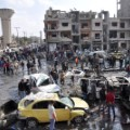 Syria Homs car bomb Al-Zahraa