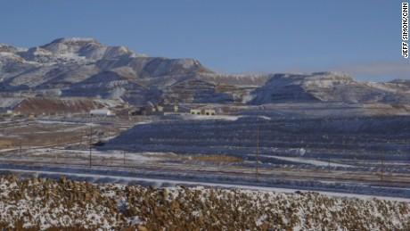 Newmont Mining's Phoenix Mine located in Battle Mountain, Nevada.