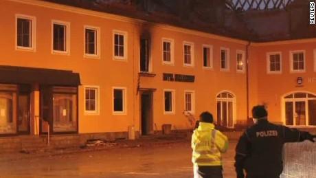 fire damages planned german refugee shelter shubert_00001926
