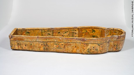 The set of coffins, dating to about 1,000 BC, underwent extensive examinations.