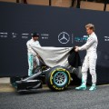 mercedes formula one car 2016 reveal