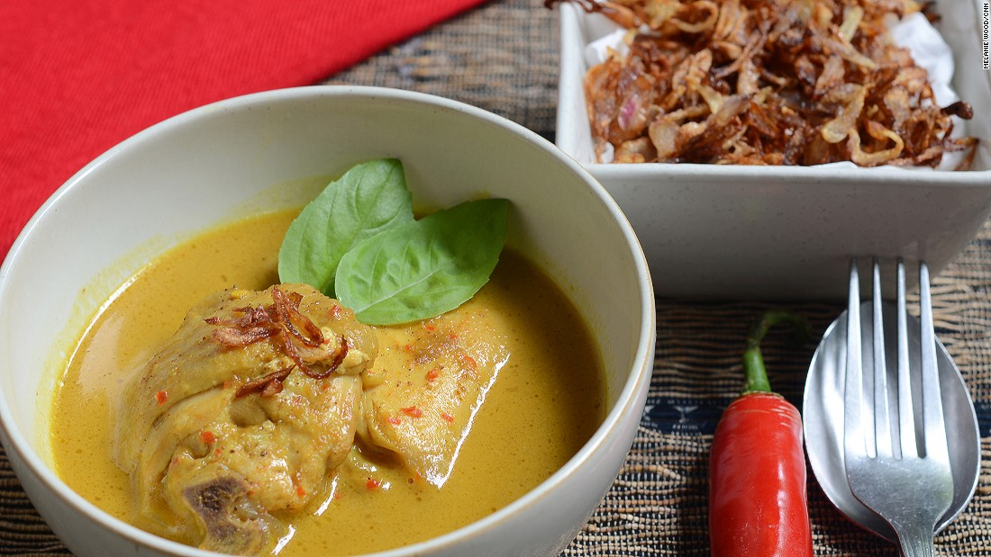 Gulai -- the common name for curry dishes -- comes in many styles. We prefer yellow.
