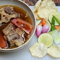 Indonesian food Sop Buntut 0490 1900px