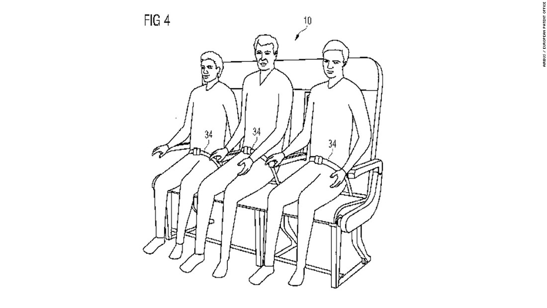 Adjustable, detachable seat belts would ensure that all passengers are locked in, regardless of their build.