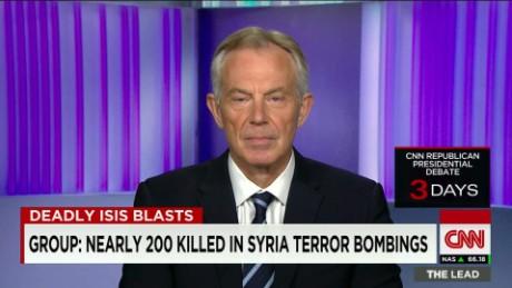 Tony Blair: Terrorists not always poor, often well-educated
