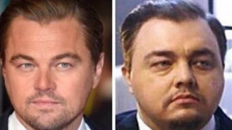 Is this Leonardo DiCaprio's twin?
