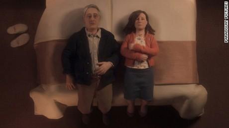 "Michael and Lisa, the minature stars of ""Anomalisa""."