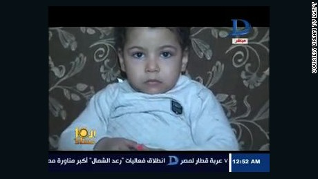 Egyptian toddler Ahmed Mansour Qorany Sharara, 3, was sentenced to life in prison.