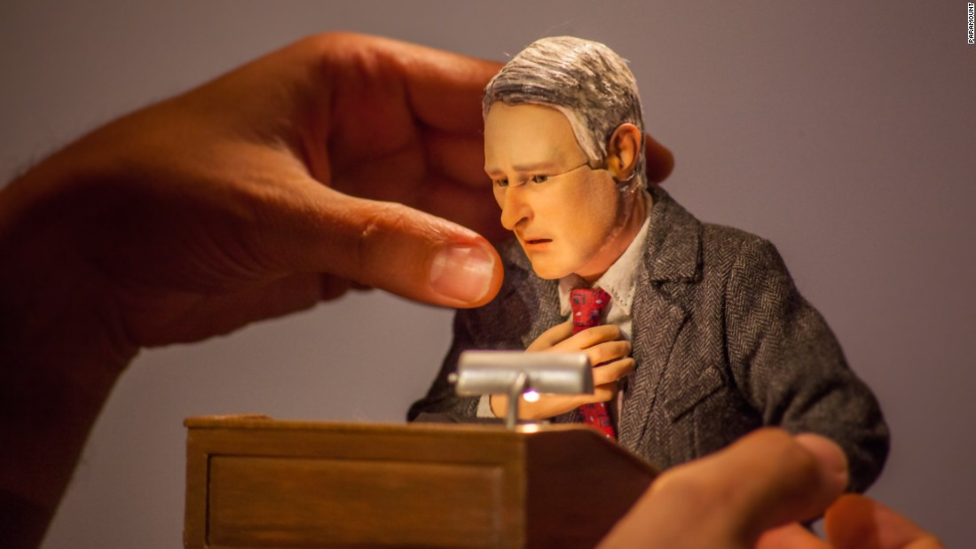 "Many of the team at Starburns Industries had come to ""Anomalisa"" from lighthearted programs such as ""Robot Chicken."" Kaufman's film was ""so emotionally heavy"" in contrast, says Driscoll. ""It was quite a challenge to wrap our brains around how we were going to accomplish this thing."""