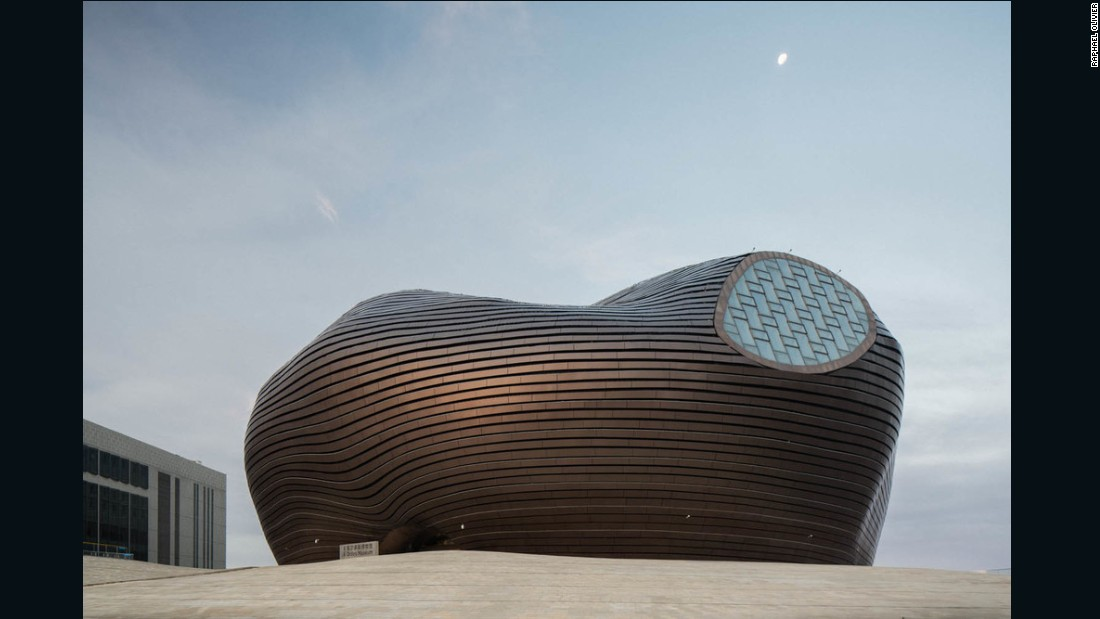 Ordos' most famous landmark is the Ordos Museum, designed by MAD Architects.