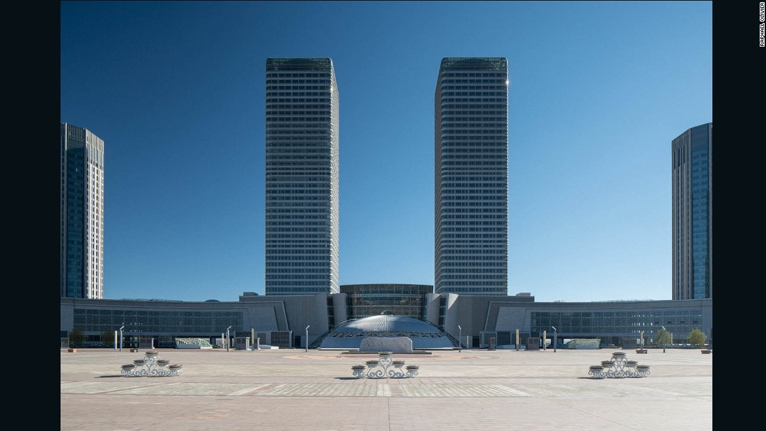 Ordos is one of the richest areas in the country, thanks to stores of coal, gas and rare earth metals.