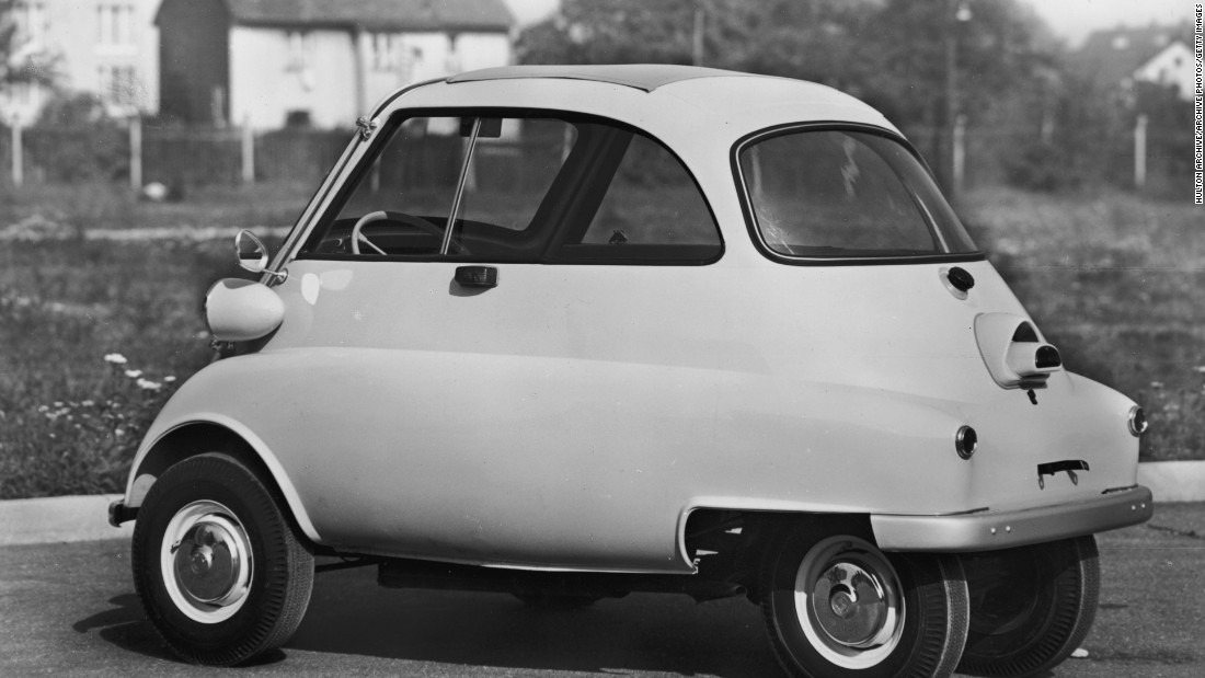 <em>By Ermenegildo Preti, 1956 </em><br />The Isetta epitomises the element of fun that is so often prominent in Italian design. Especially when looking at the history of car manufacturing, I wanted to represent how different Italy's approach was. The 'bubble car', as it became known, really communicates that.