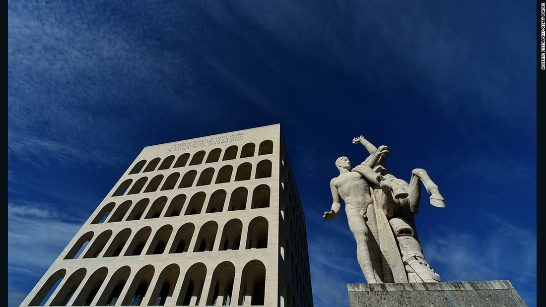 <em>By Giovanni Guerrini, Ernesto Bruno Lapadula and Mario Romano in 1937 </em> <br />Here, again, the idea of transformation in Italy's architecture is interesting. Built as part of a fascist complex under Benito Mussolini, it has recently been repurposed as the headquarters of Italian luxury brand Fendi, and their fur atelier. The brand received a large amount of negative press about the move.