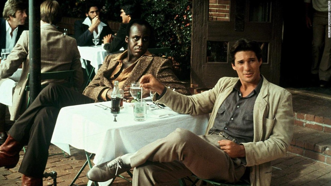 <em>For Richard Gere in American Gigolo</em> <br />From American Gigolo to Miami Vice, Giorgio Armani deconstructed the traditional man's suit, creating a more relaxed silhouette and heralding a look that would dominate mens tailoring in the 1980s.