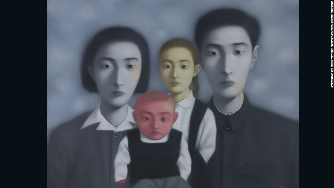 The second chapter features work produced between 1990-1999, and artistic practices during the post-Cold War era in China. Artists started to express cultural anxiety and began to explore more radical themes and techniques.