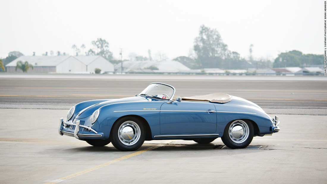 The 1957 356A Speedster is one of Porsche's most recognizable styles.