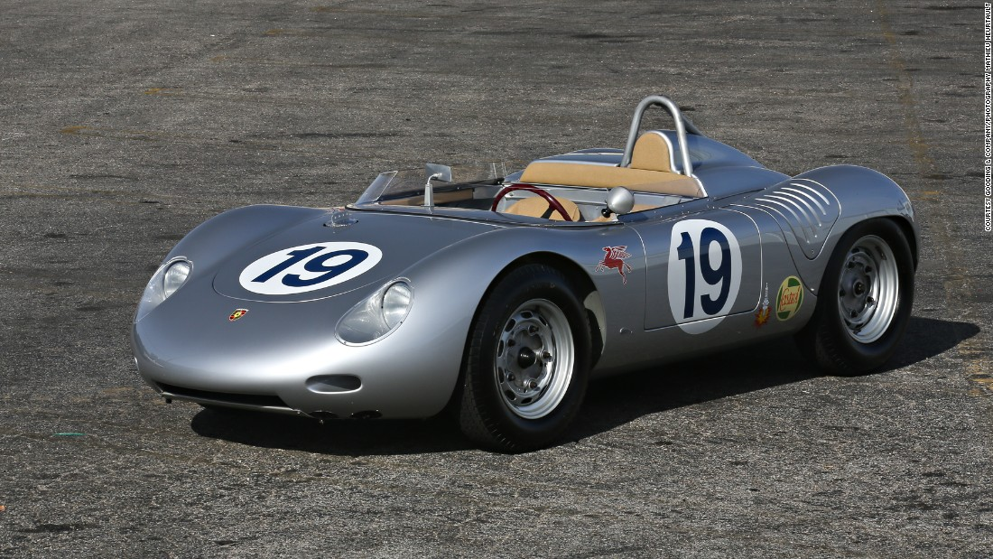 Though it's not confirmed, his collection is said to comprise around 50 Porsches.
