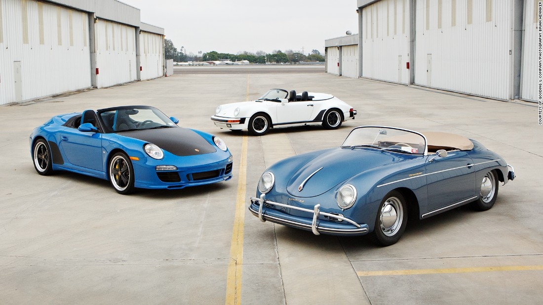 Comedian Jerry Seinfeld will be selling 16 of his Porsches at auction on March 11.