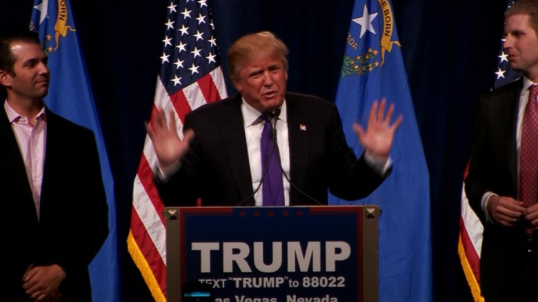 Donald Trump's Nevada caucuses speech