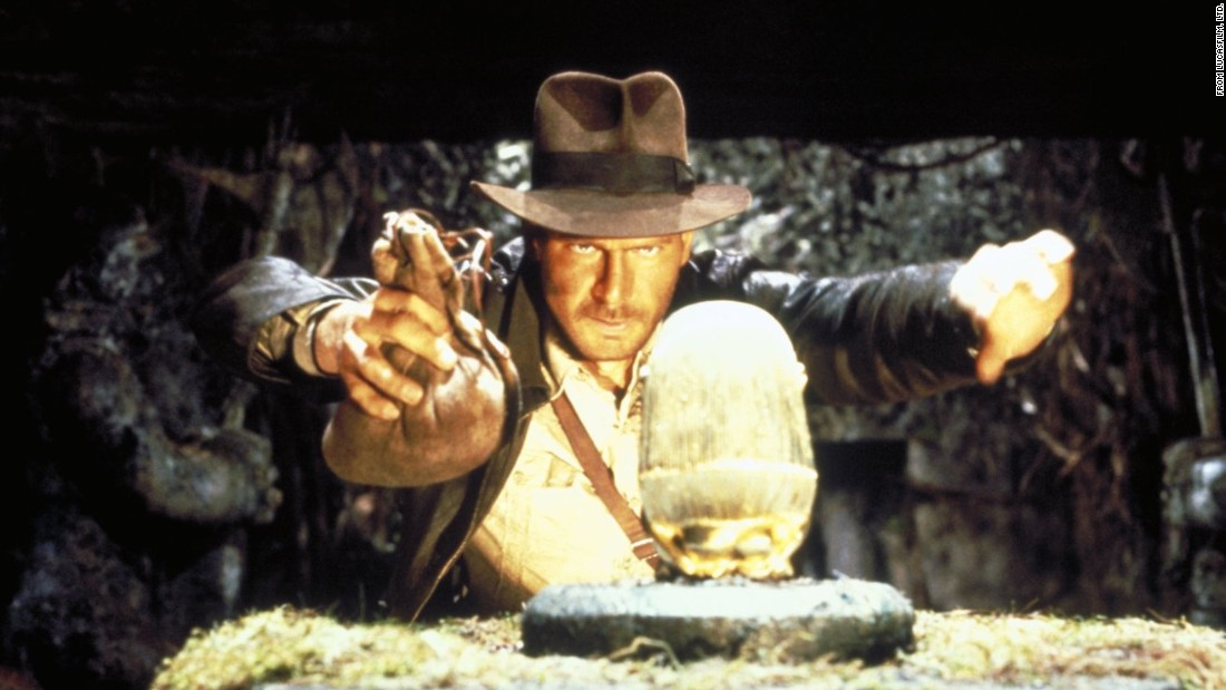 "<strong>'Raiders of the Lost Ark': </strong>This is the film that launched a thousand archeology majors. In 1981 we met the dashing professor and adventurer Indiana Jones, played by ""Star Wars"" heartthrob Harrison Ford, who races the Nazis to Egypt to find the Ark of Covenant, a Biblical artifact said to contain the Ten Commandments. The Indiana Jones franchise, directed by Steven Spielberg, now includes four films,<a href=""http://money.cnn.com/2016/03/15/media/indiana-jones-5-harrison-ford-steve-spielberg/""> with a fifth on the way in 2019.</a>"