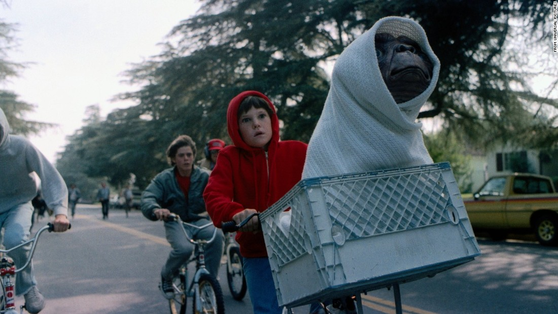 "<strong>'E.T. the Extra-Terrestrial':</strong> Before ""Poltergeist,"" Steven Spielberg developed a script for something called ""Night Skies"" — basically ""Poltergeist"" with aliens terrorizing a family instead of ghosts. He scrapped that idea in favor of ""E.T.,"" a tale about a lonely boy named Elliot who finds friendship with a benevolent creature from another planet. So many people showed up to watch Elliot and his siblings help E.T. get home that the movie became the highest-grossing film of the decade."