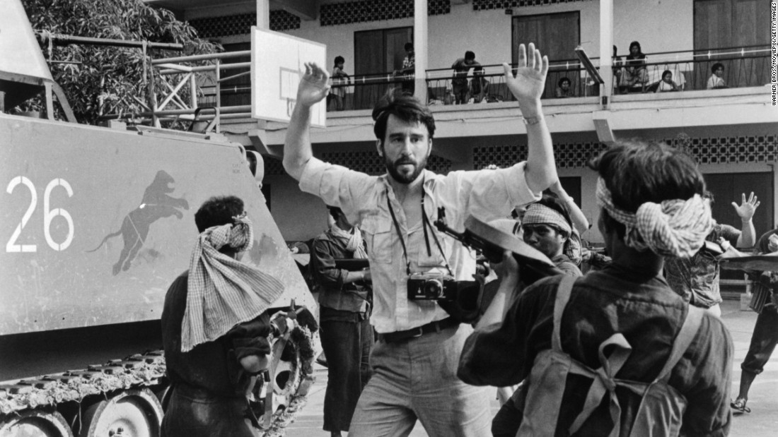 "<strong>'The Killing Fields': </strong>In 1984, this film introduced many Americans to the Khmer Rouge's reign of terror in Cambodia through the story of photojournalist Dith Pran and Pulitzer Prize-winning reporter Sydney Schanberg. Schanberg is played by Sam Waterston, shown here, who later went on to star in TV's long-running series ""Law & Order."""