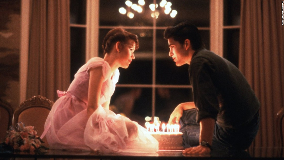 <strong>'Sixteen Candles': </strong>John Hughes' first movie introduced us to Molly Ringwald, who plays Samantha Baker. But what sets this film apart is the character of Jake Ryan -- Samantha's high school crush. Ryan -- played by Michael Schoeffling -- kind of became a poster boy for the perfect crush among countless teens in the '80s who watched this film. Ryan seals the deal when he takes Samantha home, brings out a candlelit birthday cake and reveals he has a big crush on Samantha too.