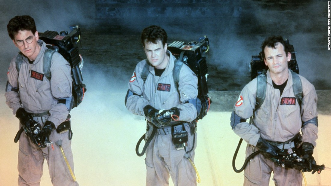"<strong>'Ghostbusters':</strong> Fighting off a sudden plague of supernatural activity around New York City, ""Saturday Night Live"" alums Dan Aykroyd and Bill Murray lead an all-star comedy cast in this 1984 pop culture phenomenon. When the smoke clears at the end of this mind blowing comedy, we understand the dangers of ""ectoplasmic residue,"" ""protonic reversal,"" and the Stay Puft Marshmallow Man. An all-female remake is set for <a href=""http://www.imdb.com/title/tt1289401/"" target=""_blank"">release in 2016</a>."