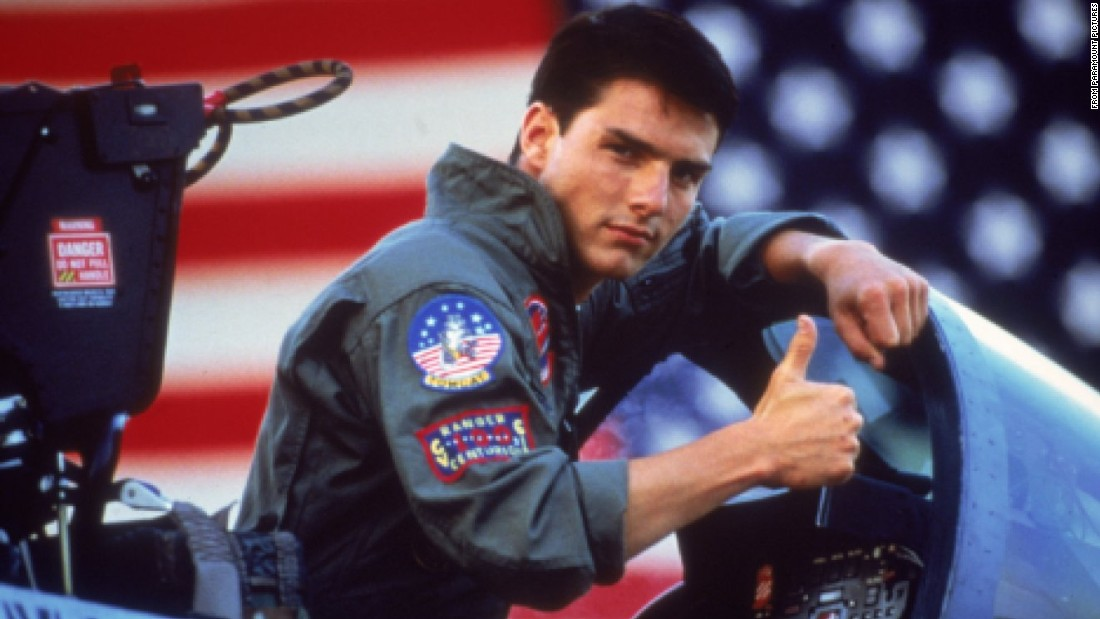 "<strong>""Top Gun"": </strong>After this 1986 film, Tom Cruise became the grown-up and bankable box office star we know today. It's about a cocky Navy fighter pilot -- callsign Maverick --  who, yes, gets the girl (an instructor, no less, played by Kelly McGillis). It introduced such unforgettable lines, as ""I feel the need, the need for speed"" and ""It's classified. I could tell you, but then I'd have to kill you."" But it was known just as much for its soundtrack, which included Berlin's steamy ballad ""Take My Breath Away"" and the Kenny Loggins tune ""Danger Zone."" Click through the gallery for more iconic '80s movies and experience <a href=""http://www.cnn.com/shows/the-eighties"">""The Eighties"" </a>Thursdays on CNN TV.<br />"