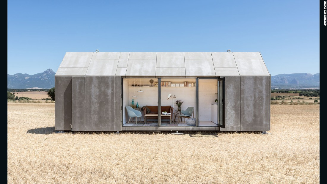 "For challenging sites and a host of climates, this is your best bet. The sectional portable home from Madrid's<a href=""http://www.abaton.es/en/projects/271070769/portable-home-aph80"" target=""_blank""> Ábaton</a> has been spotted at the edge of canyons. It is timber-framed and sealed in cement wood board. The design unfurls like an armadillo into a well lit and ventilated living space. Segmentation allows for a range of sizes and configurations and delivery by truck or aircraft. One day is all it takes to assemble this home. Ten-centimeter (4-inch) insulation comes standard, but buyers can customize to their needs. Bear in mind, all things being equal, the smaller the space the easier it is to warm or cool."