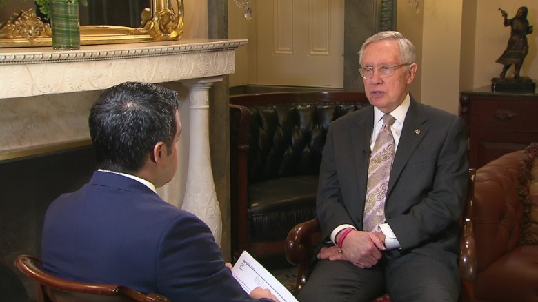 Sen. Harry Reid endorses Hillary Clinton