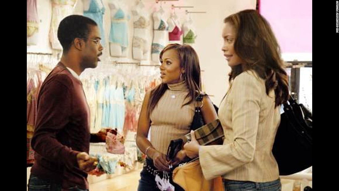 "<strong>""I Think I Love My Wife""</strong>: Chris Rock co-wrote this film with Louis C.K. and stars as a man whose marriage to Brenda (Gina Torres, right) is jeopardized by his friendship with Nikki (Kerry Washington, center). <strong>(HBO Now)</strong>"