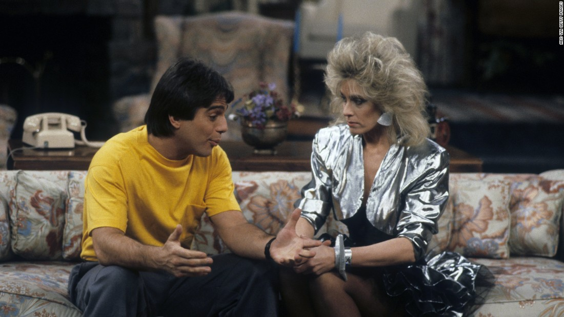 "<strong>'Who's the Boss?':</strong> Premiering in 1984, ""Who's the Boss?"" featured Tony Danza, left, as a macho live-in housekeeper working for a divorced advertising executive played by Judith Light, right. His young daughter, played by Alyssa Milano, moves in, too."