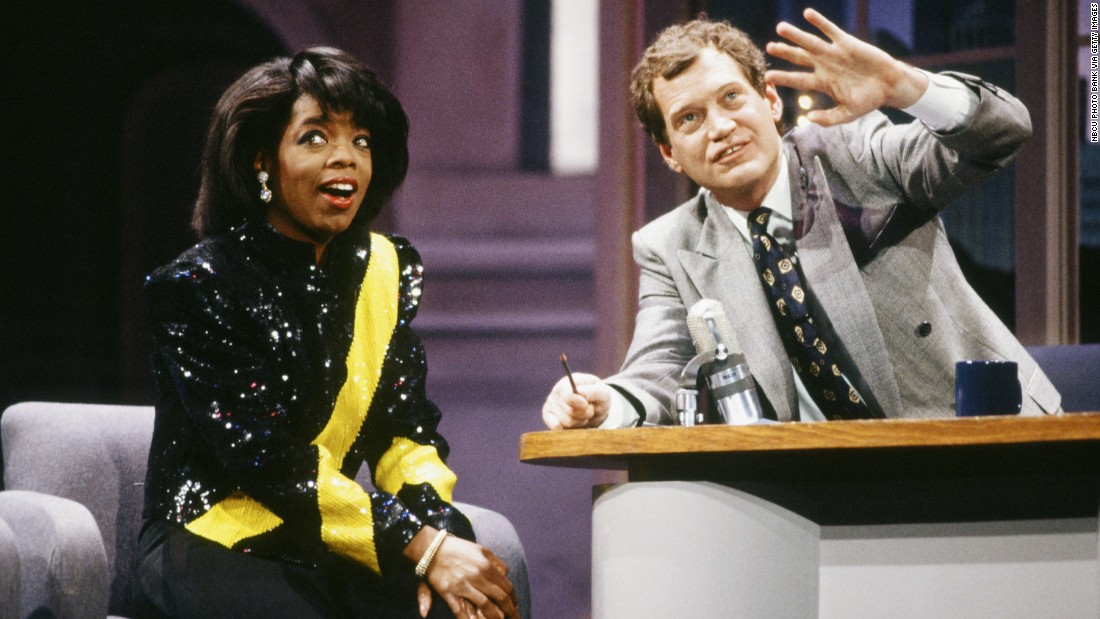 "<strong>'Late Night with David Letterman': </strong>When David Letterman's talk show launched on NBC in 1982, he re-invented late night TV by introducing us to elevator races, freaky characters such as ""The Guy Under The Seats,"" and something called the ""Late Night Monkey Cam."" For years, an alleged ""feud"" with Oprah Winfrey was a hot topic for gossip columnists and the subject of Letterman's jokes."