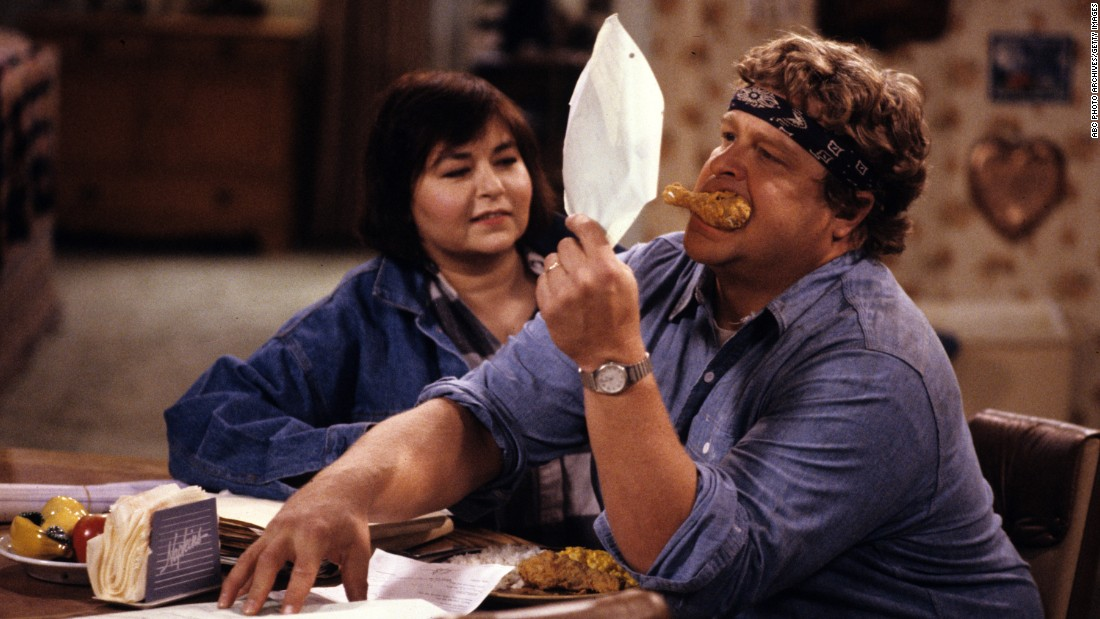 "<strong>'Roseanne': </strong>This ABC sitcom has been called ""groundbreaking,"" ""unflinching"" and ""among the 50 greatest TV shows of all time."" From 1988-1997, Roseanne Barr and John Goodman led a cast that took on difficult issues such as teen marriage, abortion, birth control, parental abuse and unemployment."