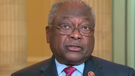 exp james clyburn obama clinton held to double standard intv erin_00002001