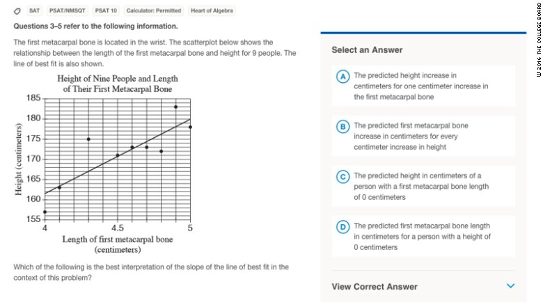 New SAT brings anxiety and confusion CNN – Sat Math Prep Worksheets