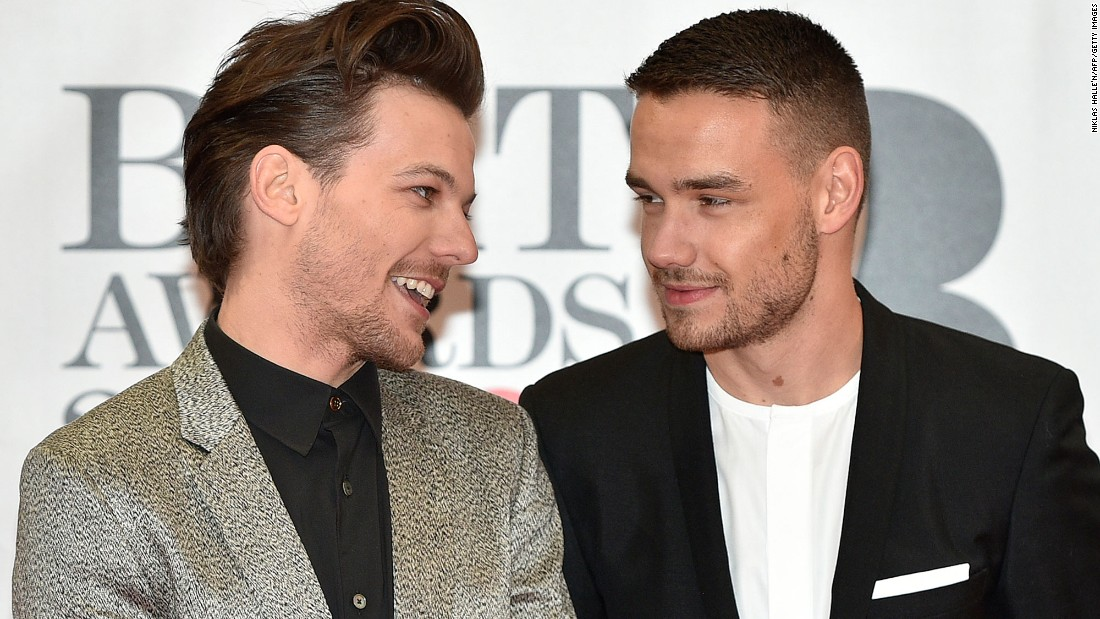 Louis Tomlinson and Liam Payne of One Direction