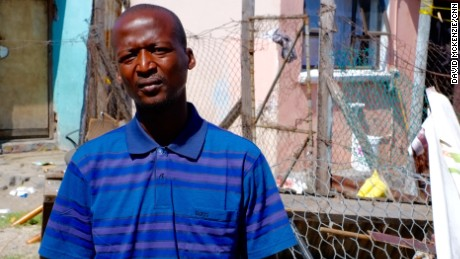 """Conditions in remand are worse than when you're convicted,"" says Athenkosi Myoli, 30, who has been through Pollsmoor several times."