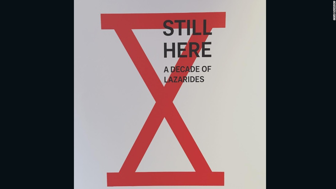 """Here's the cover of a zine we made to celebrate the tenth anniversary of Lazarides Gallery and just to remind everyone that we are, in fact, all still here."""