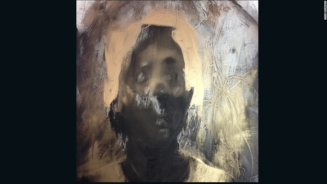 """""""This was a day at Antony Micallef's studio, which is full of fantastic surprises (normally in the form of paintings). I've worked with Antony for a very long period of time and consider him a good friend."""""""