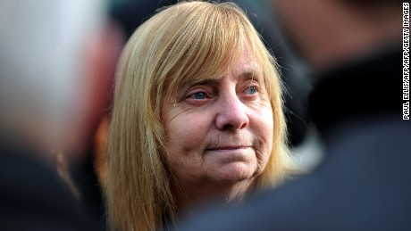 Margaret Aspinall, chairwoman of the Hillsborough Families Support Group, lost son James.
